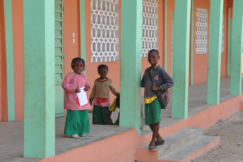 Ecole primaire de la FVPT à Kandi